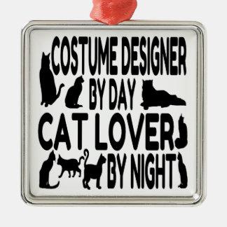 Cat Lover Costume Designer Christmas Ornament