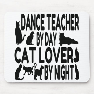Cat Lover Dance Teacher Mouse Mat
