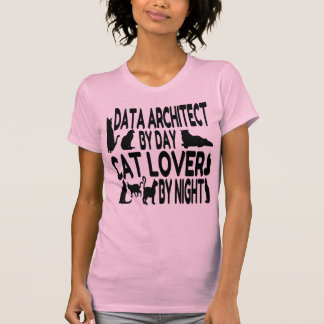Cat Lover Data Architect T-Shirt