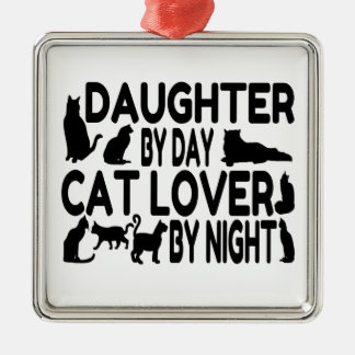 Cat Lover Daughter Christmas Ornament