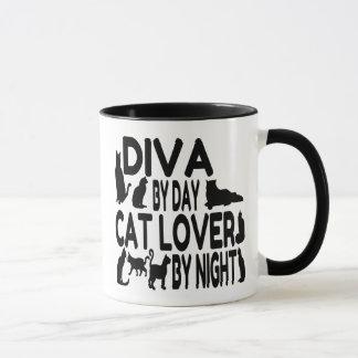 Cat Lover Diva Mug
