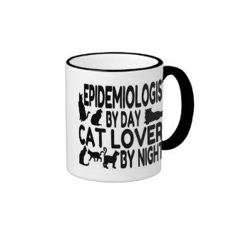 Cat Lover Epidemiologist Ringer Mug