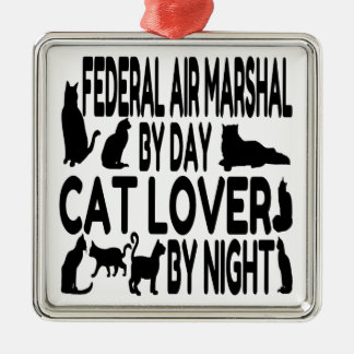 Cat Lover Federal Air Marshal Christmas Ornament