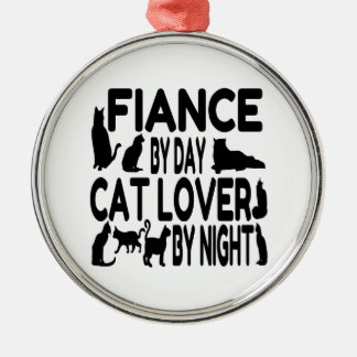 Cat Lover Fiance Christmas Ornament