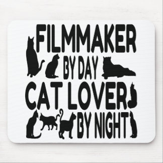 Cat Lover Filmmaker Mouse Mat