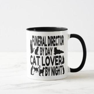 Cat Lover Funeral Director Mug