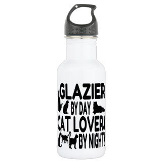 Cat Lover Glazier 532 Ml Water Bottle
