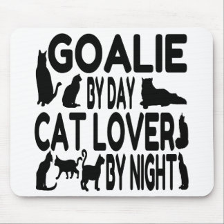 Cat Lover Goalie Mouse Mat