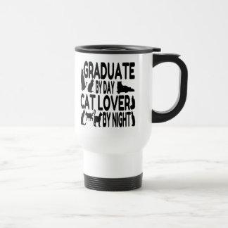 Cat Lover Graduate Travel Mug
