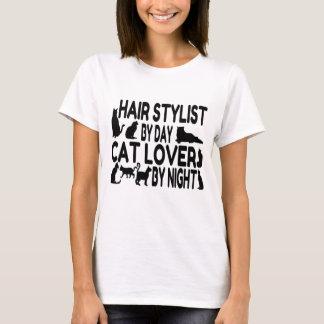 Cat Lover Hair Stylist T-Shirt