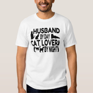 Cat Lover Husband T-shirts