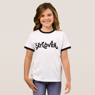 Cat Lover Kids T-Shirt