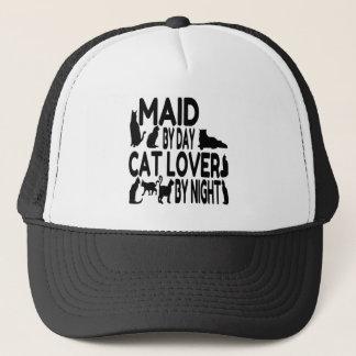 Cat Lover Maid Trucker Hat