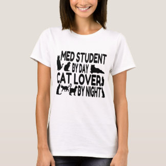 Cat Lover Med Student T-Shirt