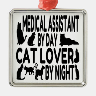 Cat Lover Medical Assistant Christmas Ornament