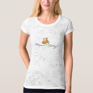CAT-LOVER MEOW ALLURING T-SHIRT