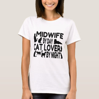 Cat Lover Midwife T-Shirt