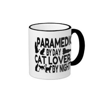 Cat Lover Paramedic Mugs