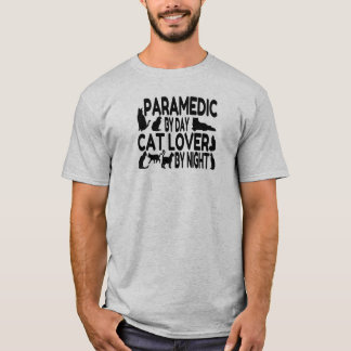 Cat Lover Paramedic T-Shirt