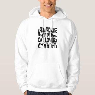 Cat Lover Pediatric Nurse Hoodie
