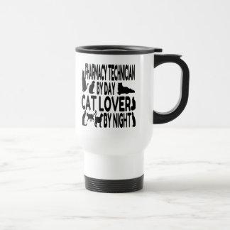 Cat Lover Pharmacy Technician Travel Mug