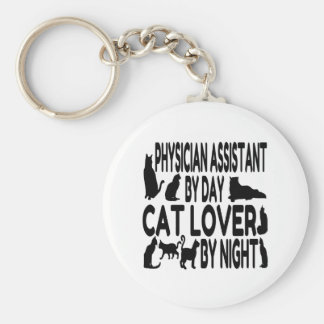 Cat Lover Physician Assistant Key Ring