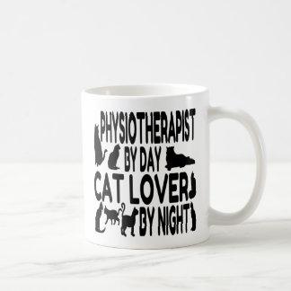 Cat Lover Physiotherapist Basic White Mug