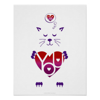Cat Lover Poster