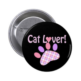 Cat Lover Products 6 Cm Round Badge