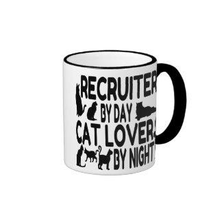 Cat Lover Recruiter Ringer Mug