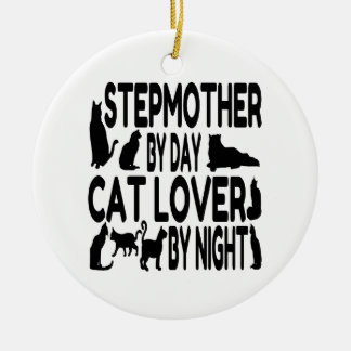 Cat Lover Stepmother Christmas Ornament