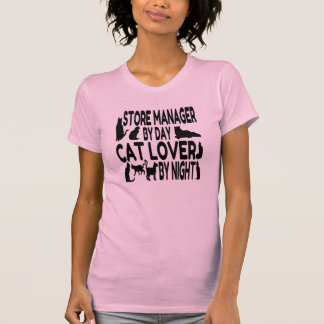 Cat Lover Store Manager T-Shirt