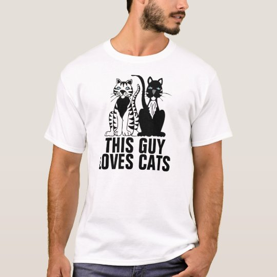 Cat Lover T-shirts for Guys