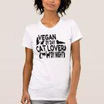 Cat Lover Vegan Tee Shirts