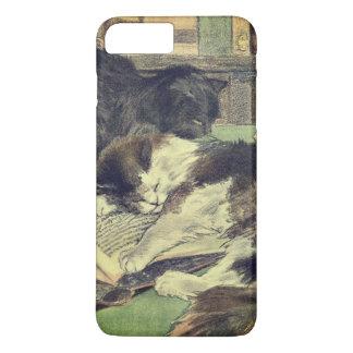 Cat Lover Vintage Art iPhone 8 Plus/7 Plus Case