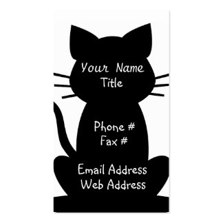 Cat Lovers business Card
