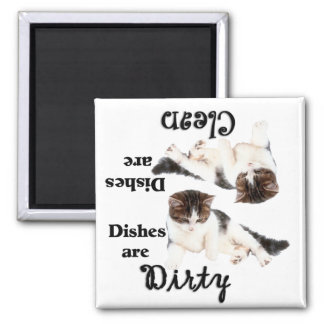 Cat Lovers Dishwasher Magnet