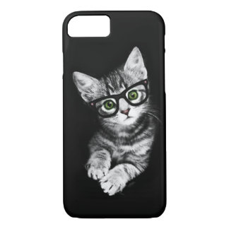 Cat Lover's Hipster Kitty iPhone 7 Case