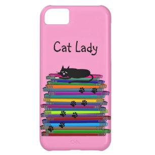 "Cat Lovers iPhone 5 case ""Cat Lady"""