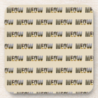Cat Lovers' Meow Coasters