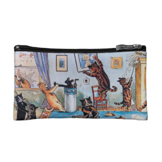 Cat Lover's Purse; Louis Wain's Cats Makeup Bag