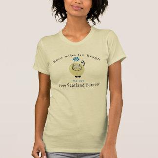 Cat Lovers Say Aye Scottish Independence T-Shirt
