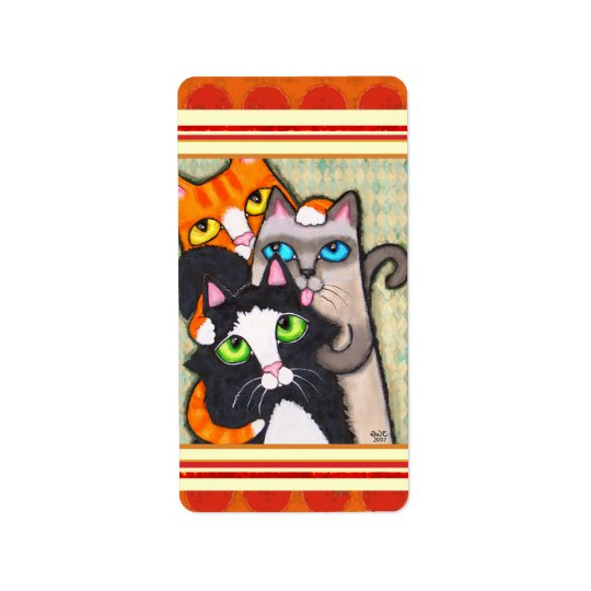 Cat Lover's Sticker / Labels