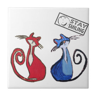 Cat Lovers Tile