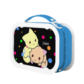 Cat Lovers Yubo Lunch Box