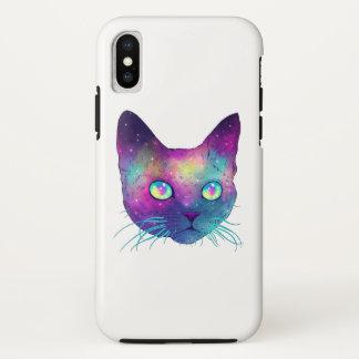 Cat marries iPhone x case