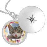 Cat Memorial Custom Photo Locket