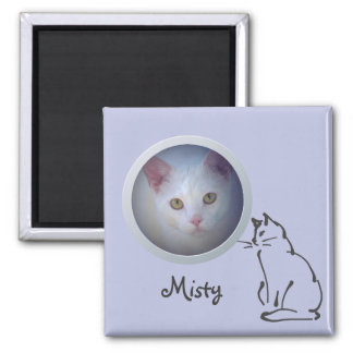 Cat Memory Add a Photo Magnet