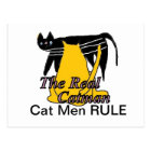Cat Men Rule Card