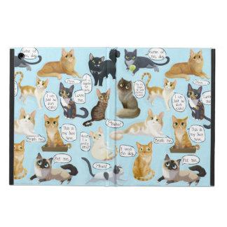 Cat Mewsings Case iPad Air Cases
